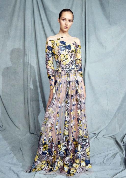 фото вечерние платья из коллекции Zuhair Murad Resort 2019