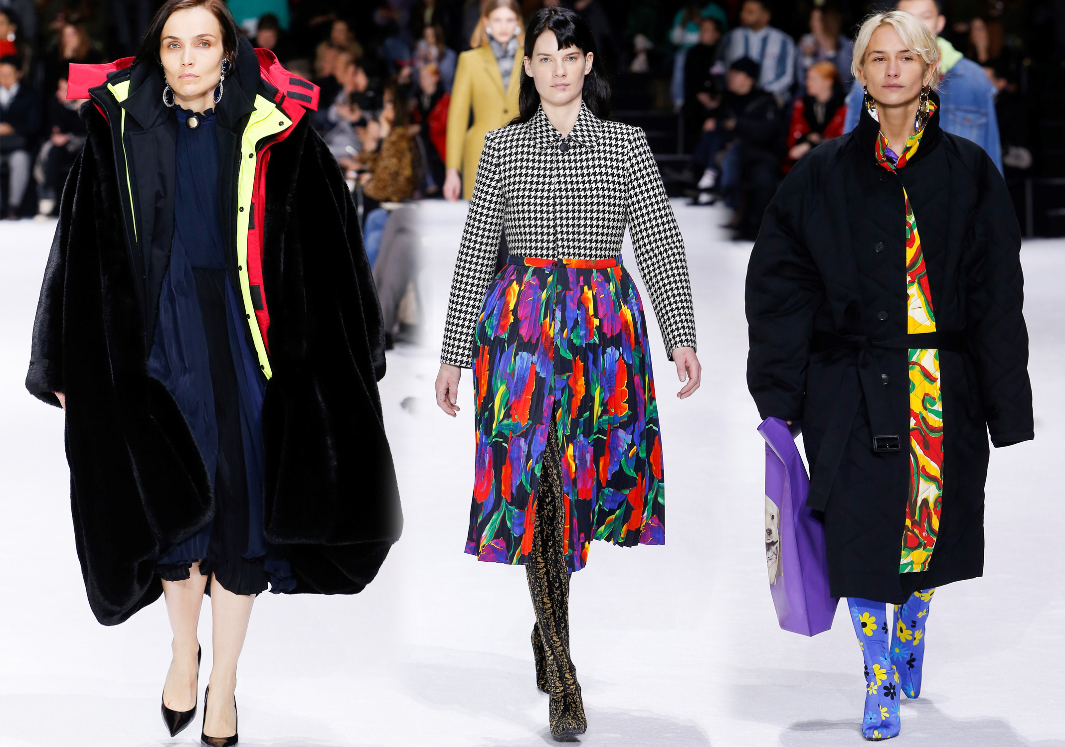 Мода осень 2018 2019: фото 5 модных стилей из 5 коллекций